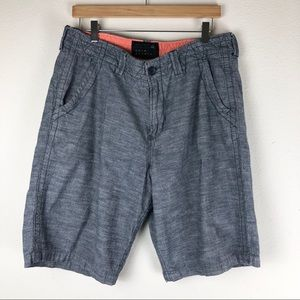 Quiksilver Gray Shorts Size 34